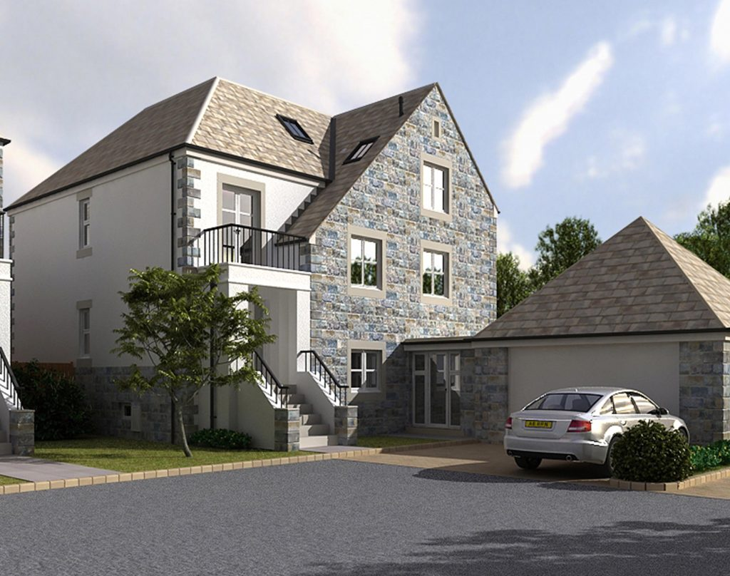 Erkulis New Build Five superior five bedroom detached houses situated in one of the most sort after North Leeds locations
